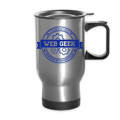 Web Geek Gears Travel Mug - Travel Mug