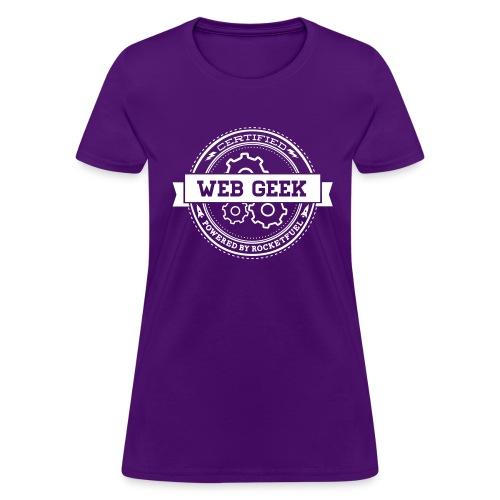 Web Geek Gear Women's T-Shirt by Gildan - Women's T-Shirt