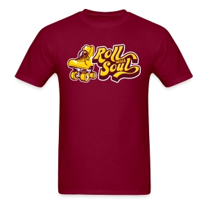 Roll with Soul Retro - Men's T-Shirt