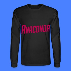 Anaconda Long Sleeve Shirts - Men's Long Sleeve T-Shirt