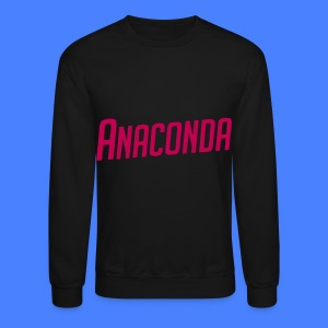 Anaconda Long Sleeve Shirts - Crewneck Sweatshirt