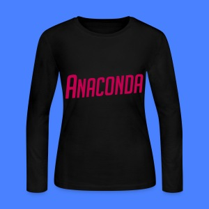 Anaconda Long Sleeve Shirts - Women's Long Sleeve Jersey T-Shirt