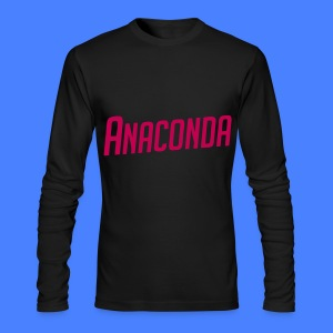 Anaconda Long Sleeve Shirts - Men's Long Sleeve T-Shirt by Next Level