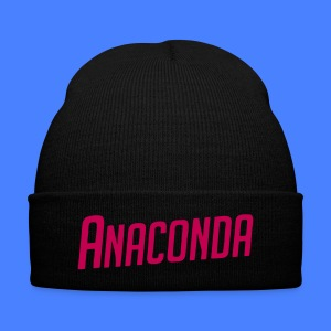 Anaconda Caps - Knit Cap with Cuff Print