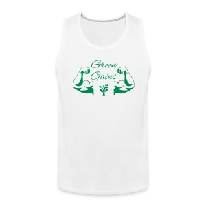 Green Gains Men - Men's Premium Tank