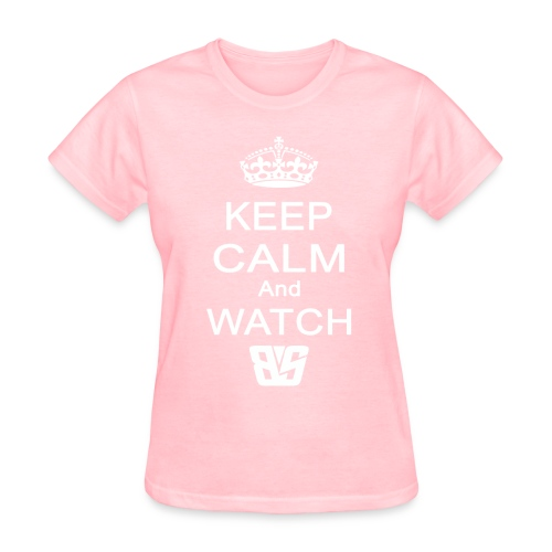 Keep Calm BS White - Women's T-Shirt