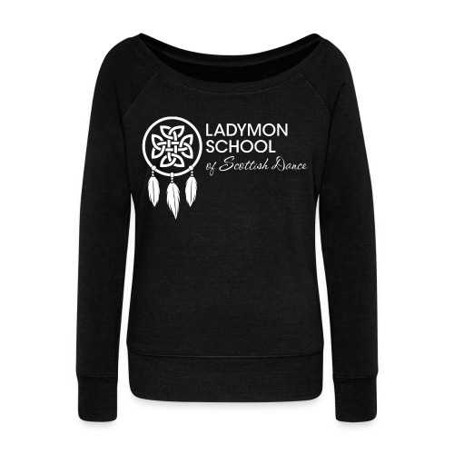 Women's Ladymon Logo Wideneck Sweatshirt - Women's Wideneck Sweatshirt