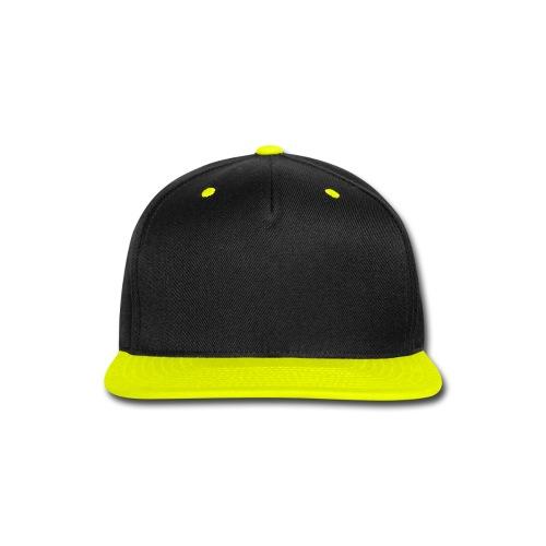 FuZion Gaming Yellow/Black Snap Back Hat - Snap-back Baseball Cap
