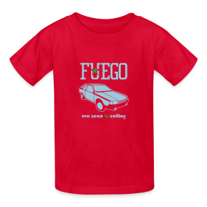 Kids' Rogue Fuego With (Light Blue/Green) - Kids' T-Shirt