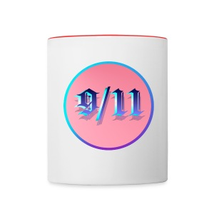 9/11 Circle - Contrast Coffee Mug