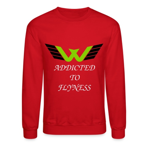 ADDICTED TO FLYNESS  - Crewneck Sweatshirt