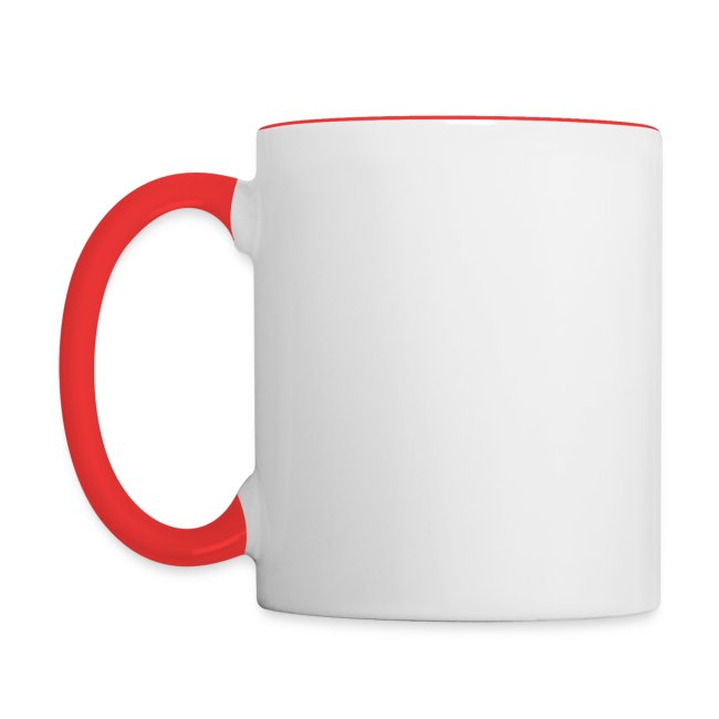 Happy Birthday Jesus Contrast Coffee Mug