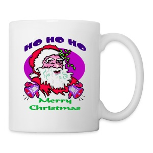 Ho Ho Ho Merry Christmas Hot Chocolate Mug - Coffee/Tea Mug
