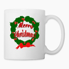 Merry Christmas Reef Bottles & Mugs