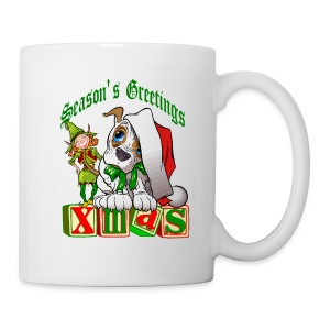 Season's Greetings Hot Chocolate Mug - Coffee/Tea Mug
