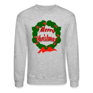 Merry Christmas Reef Crewneck Sweatshirt For Men - Crewneck Sweatshirt