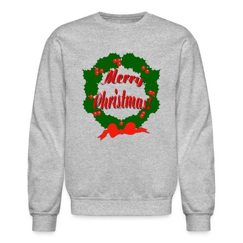 Merry Christmas Reef Crewneck Sweatshirt For Men - Crewneck Sweatshirt