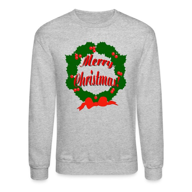 Merry Christmas Reef Crewneck Sweatshirt For Men