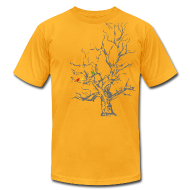 T-Shirts ~ Men's T-Shirt by American Apparel ~ Autumn Tree
