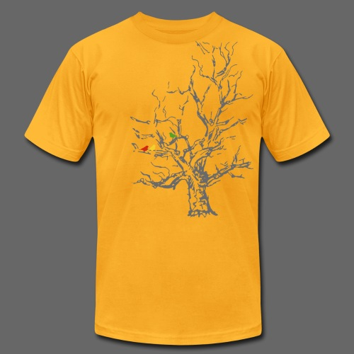 Autumn Tree - Men's T-Shirt by American Apparel