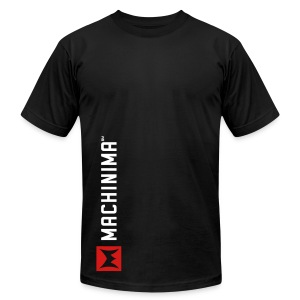 Machinima  Vertical Logo Tee  - Men's T-Shirt by American Apparel