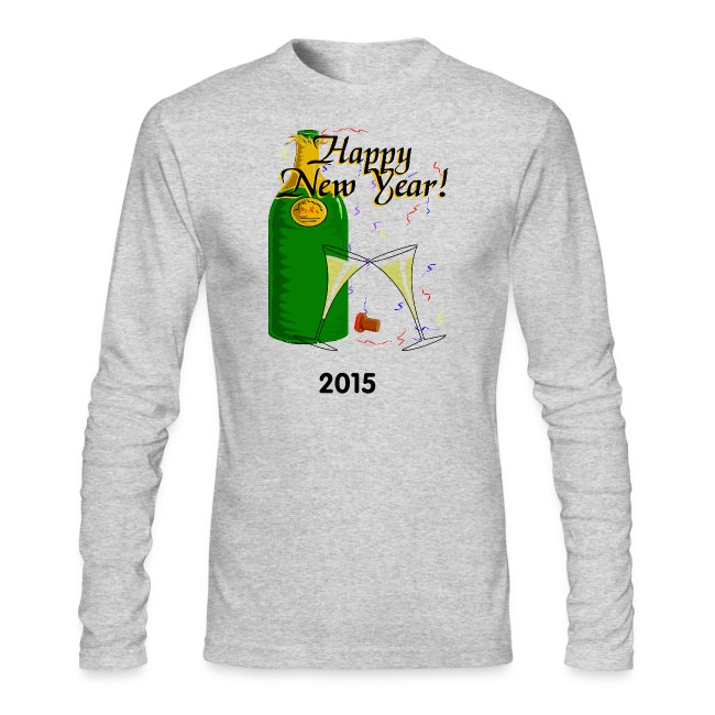 Happy New Year Long Sleeve T-Shirt For Men