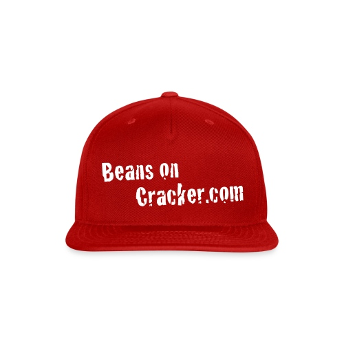 Beans on Cracker Hat - Snap-back Baseball Cap
