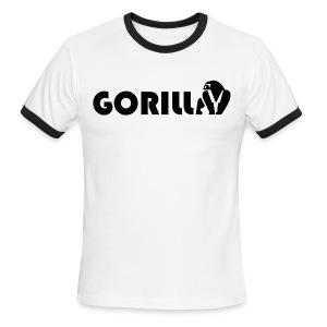 Gorilla Tribe - Men's Ringer T-Shirt