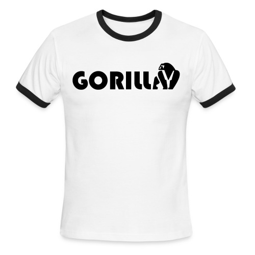 Gorilla Tribe - Men's Ringer T-Shirt