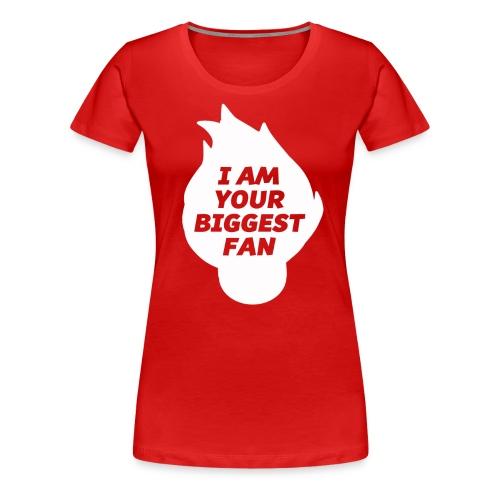 Biggest Fan - Women's - Women's Premium T-Shirt