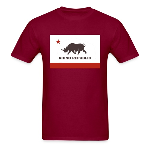 Rhino Republic - Men's T-Shirt