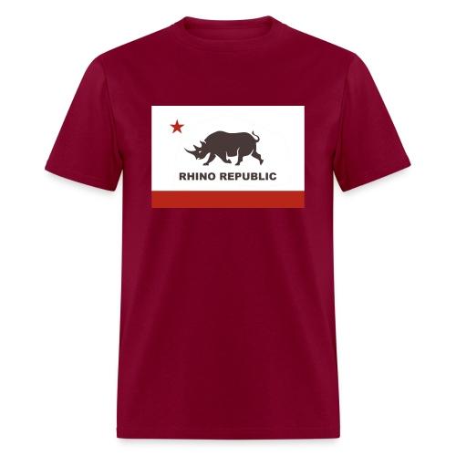 Rhino Republic - Men's T-Shirt