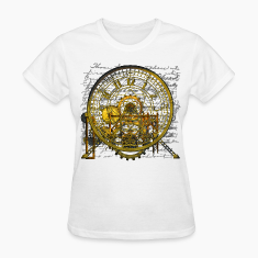 Steampunk Vintage Clock #2 Women's T-Shirt