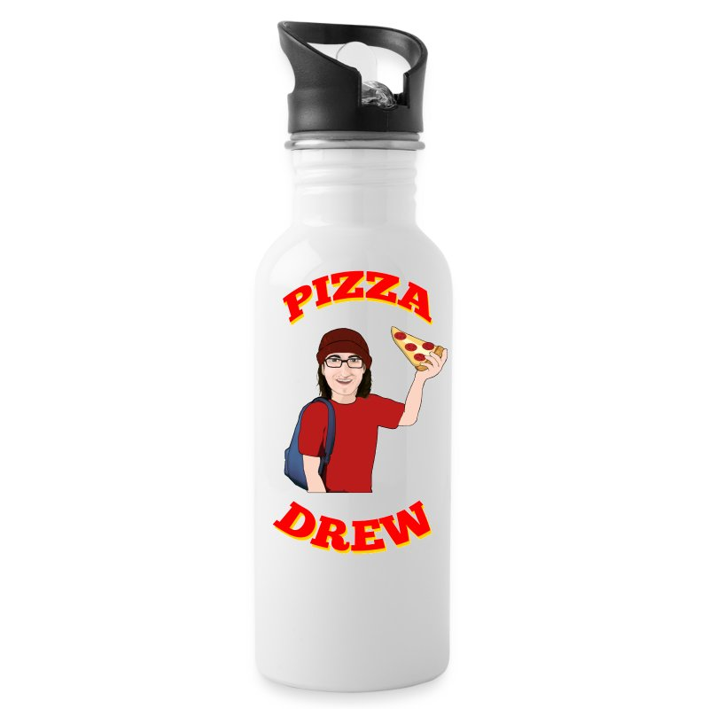 pizzadrewiphone5.png - Water Bottle