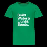 Kids' Shirts ~ Kids' Premium T-Shirt ~ A Garden - Kids