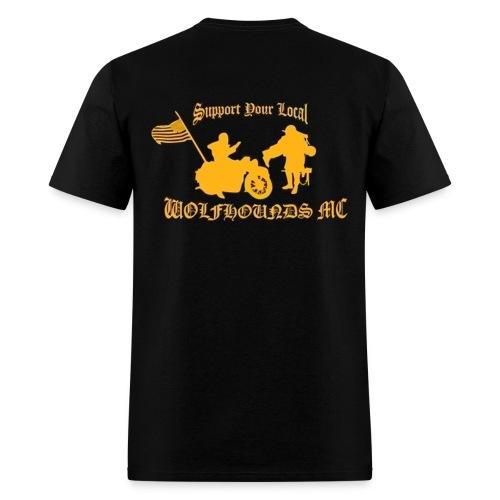 Bike w/Flag Support T - Men's T-Shirt