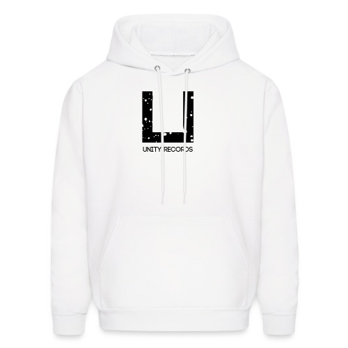 UNITY RECORDS LOGO (BLACK - Men's Hoodie