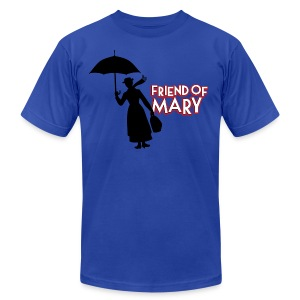 Friend of Mary Tee - Men's T-Shirt by American Apparel