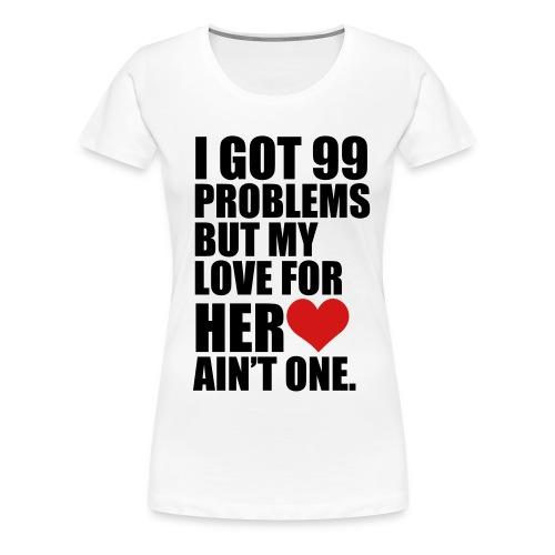 99PROB - Women's Premium T-Shirt