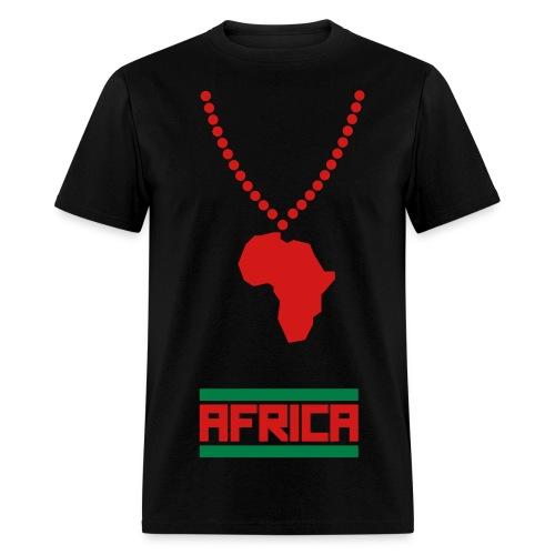 Male Africa Representer Tee - Men's T-Shirt