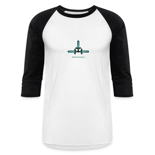 Men's Baseball T-shirt (Swedensmagic's logo) - Baseball T-Shirt