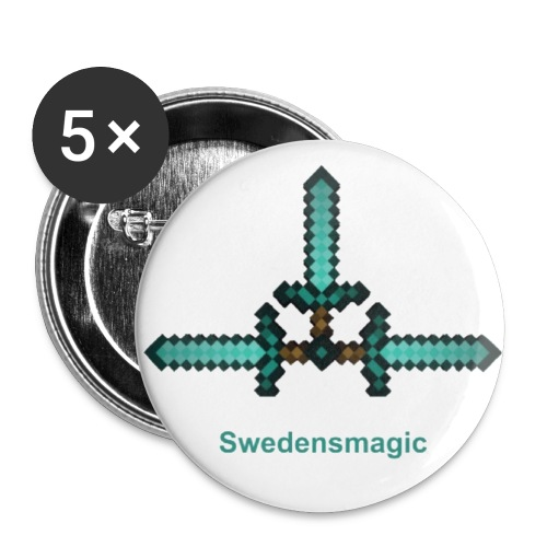 Swedensmagic buttons - Buttons small 1'' (5-pack)