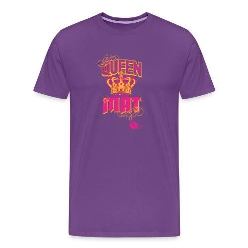 Queen of the Mat - Men's Premium T-Shirt