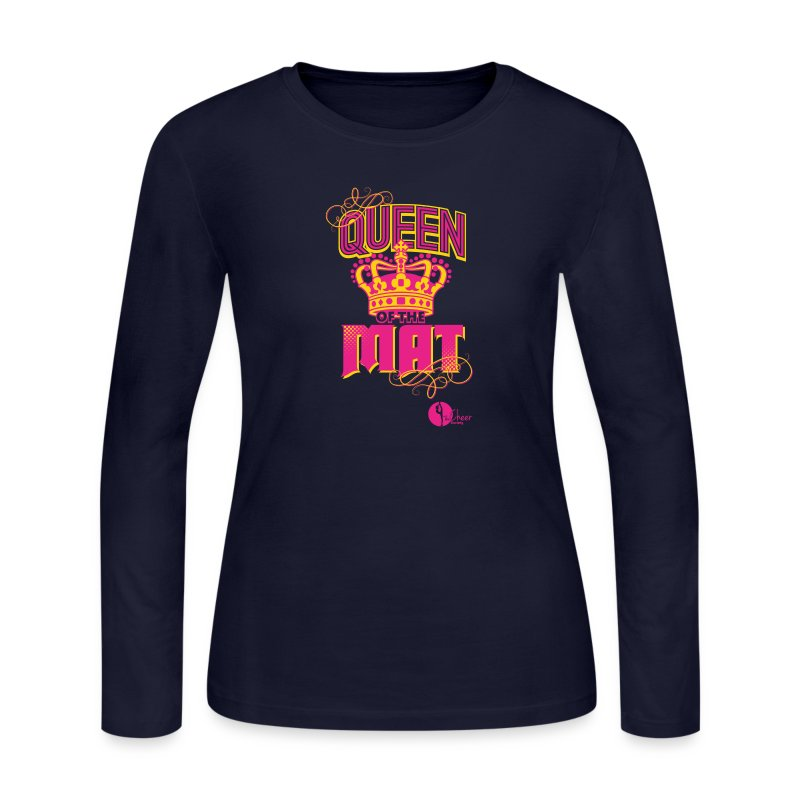 Queen of the Mat - Women's Long Sleeve Jersey T-Shirt