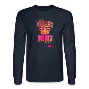 Queen of the Mat - Men's Long Sleeve T-Shirt