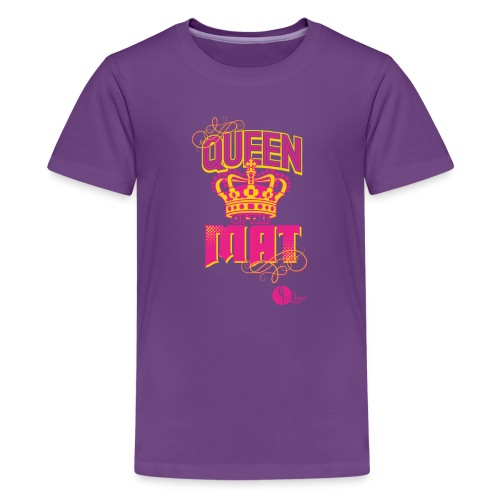 Queen of the Mat - Kids' Premium T-Shirt