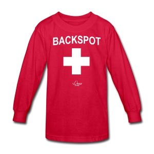 Backspot - Kids' Long Sleeve T-Shirt