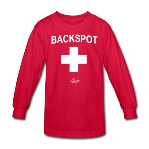 Backspot - Kids' Long Sleeve T-Shirt