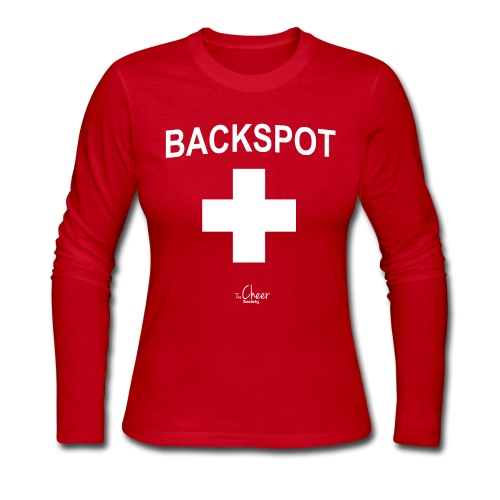 Backspot - Women's Long Sleeve Jersey T-Shirt