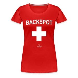 Backspot - Women's Premium T-Shirt